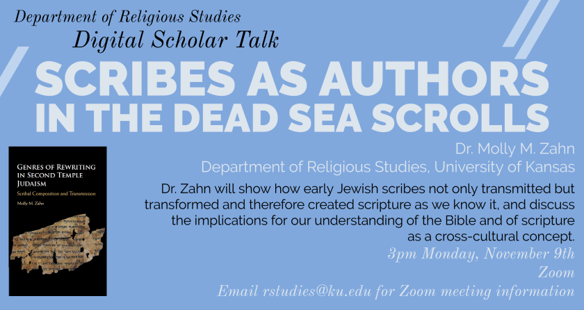 Scribes as Authors in the Dead Sea Scrolls