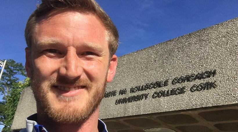 Kyle Schofield, Religious Studies graduate student summer study in Ireland