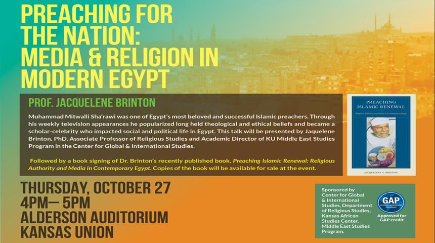 Preaching for the Nation: Media and Religion in Modern Egypt